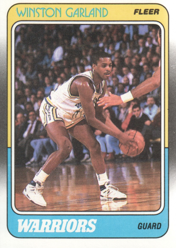 1988-89 Fleer #46 Winston Garland RC