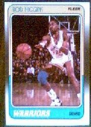 1988-89 Fleer #47 Rod Higgins