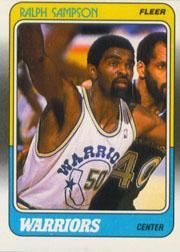 1988-89 Fleer #49 Ralph Sampson
