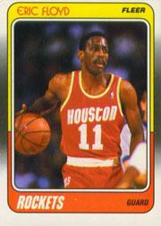 1988-89 Fleer #51 Sleepy Floyd