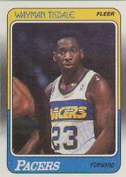 1988-89 Fleer #60 Wayman Tisdale