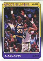 1988-89 Fleer #64 Kareem Abdul-Jabbar