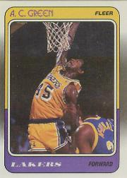 1988-89 Fleer #66 A.C. Green