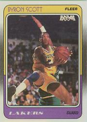 1988-89 Fleer #68 Byron Scott