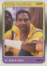 1988-89 Fleer #69 Mychal Thompson