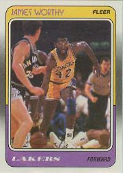 1988-89 Fleer #70 James Worthy