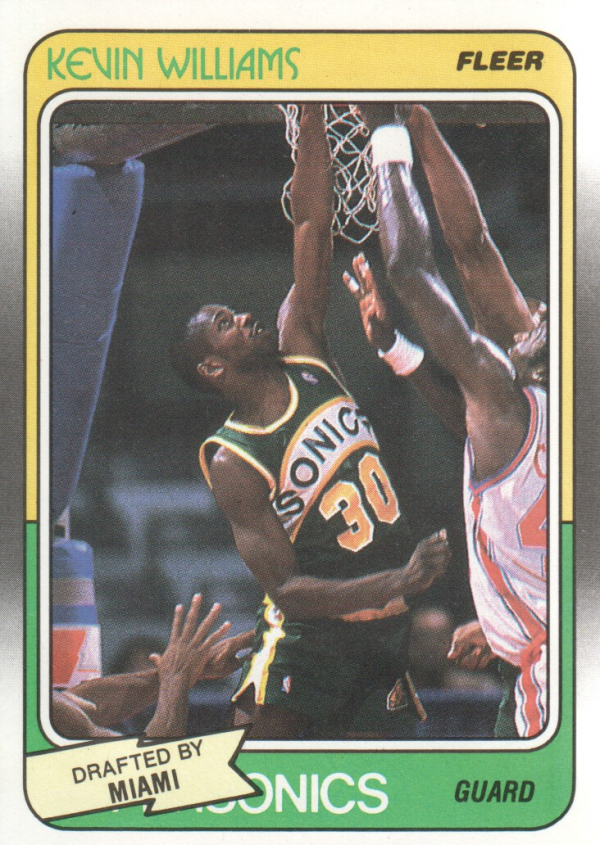 1988-89 Fleer #72 Kevin Williams