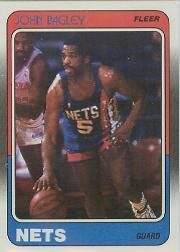 1988-89 Fleer #77 John Bagley