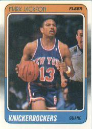 1988-89 Fleer #82 Mark Jackson RC