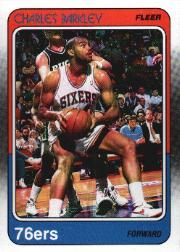 1988-89 Fleer #85 Charles Barkley