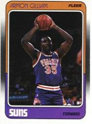 1988-89 Fleer #89 Armon Gilliam RC