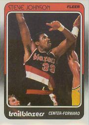 1988-89 Fleer #94 Steve Johnson