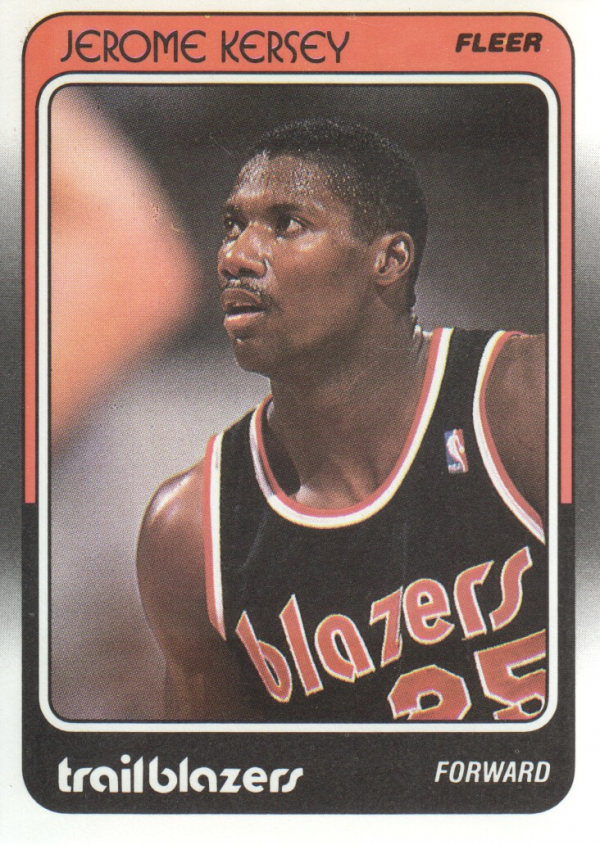 1988-89 Fleer #95 Jerome Kersey