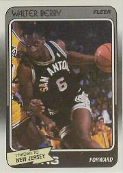 1988-89 Fleer #102 Walter Berry RC