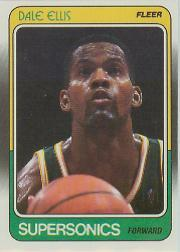 1988-89 Fleer #107 Dale Ellis