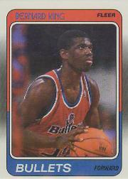 1988-89 Fleer #116 Bernard King