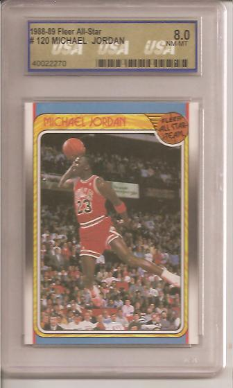 1988-89 Fleer #120 Michael Jordan AS