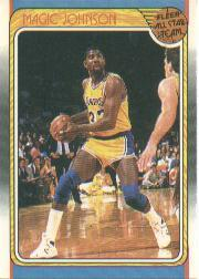 1988-89 Fleer #123 Magic Johnson AS