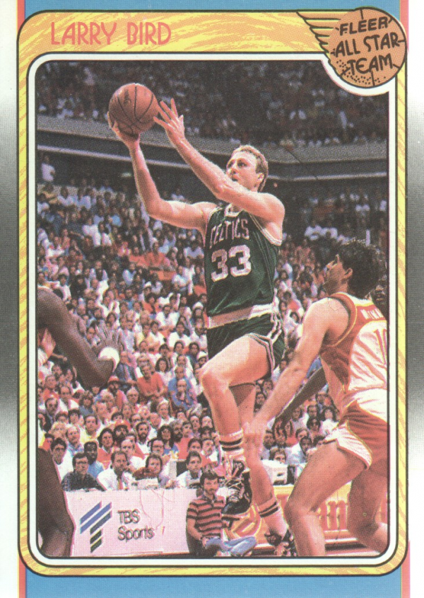 1988-89 Fleer #124 Larry Bird AS