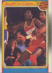 1988-89 Fleer #126 Hakeem Olajuwon AS