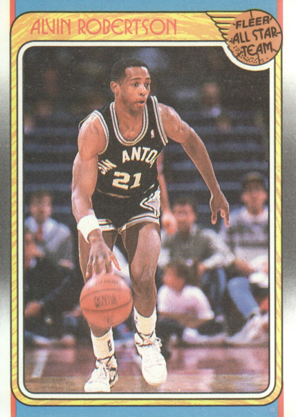 1988-89 Fleer #128 Alvin Robertson AS