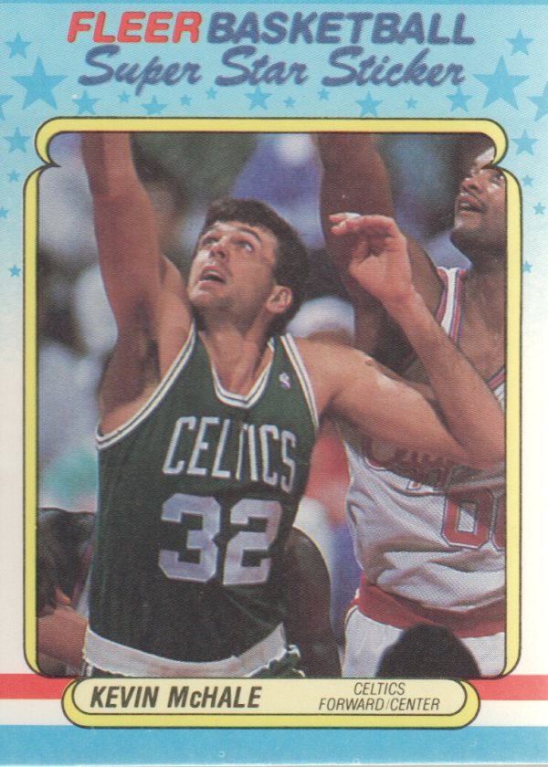 1988-89 Fleer Stickers #9 Kevin McHale
