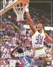 1988-89 Jazz Smokey #5 Karl Malone