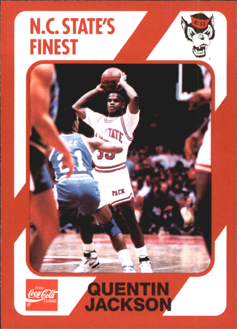 1989 North Carolina State Collegiate Collection #151 Quentin Jackson