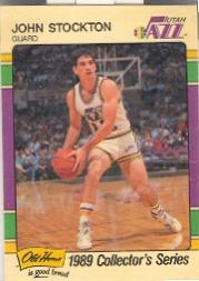 1989 Jazz Old Home #13 John Stockton