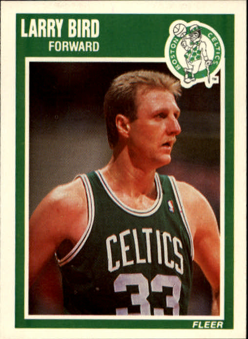 1989-90 Fleer #8 Larry Bird