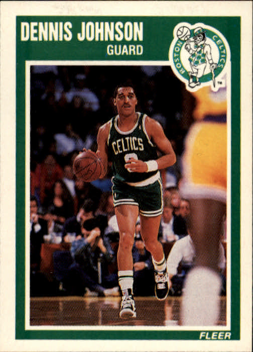 1989-90 Fleer #9 Dennis Johnson