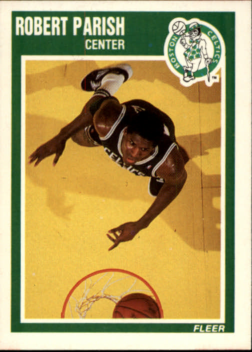 1989-90 Fleer #12 Robert Parish