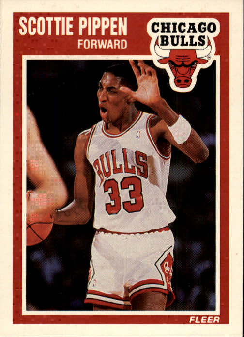 1989-90 Fleer #23 Scottie Pippen