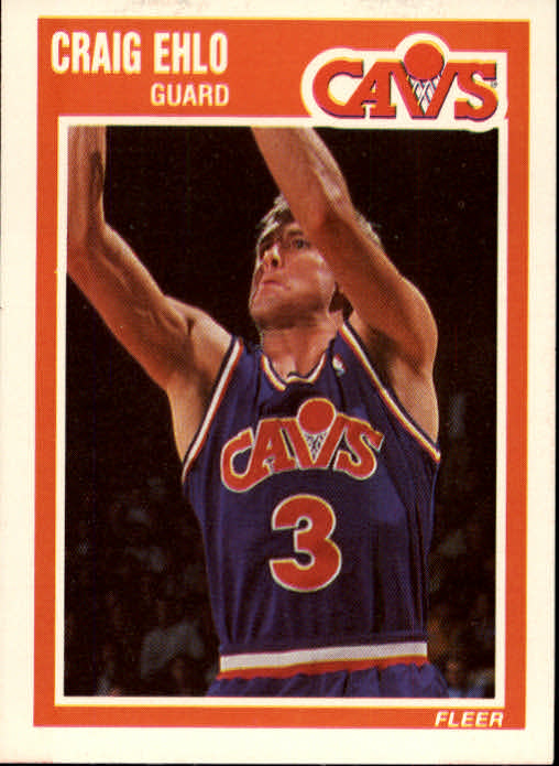 1989-90 Fleer #26 Craig Ehlo RC