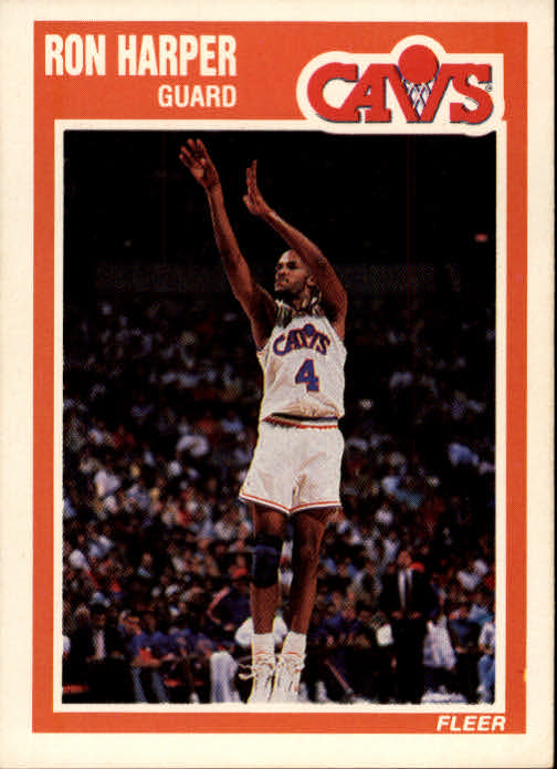 1989-90 Fleer #27 Ron Harper