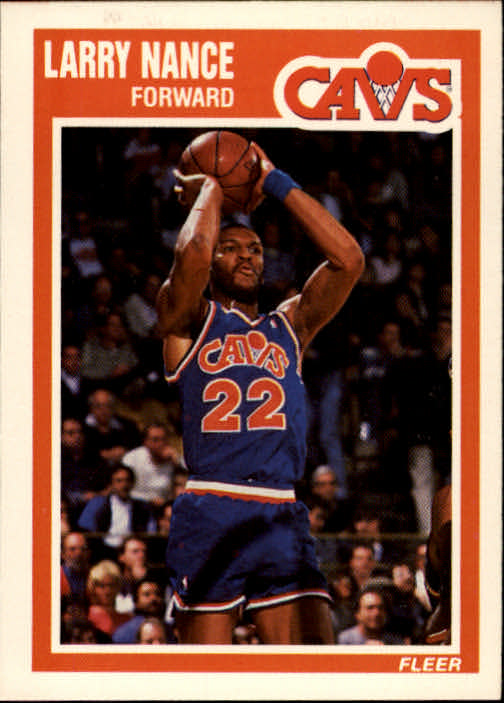 1989-90 Fleer #28 Larry Nance