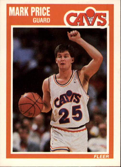 1989-90 Fleer #29 Mark Price