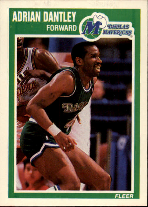 1989-90 Fleer #33 Adrian Dantley