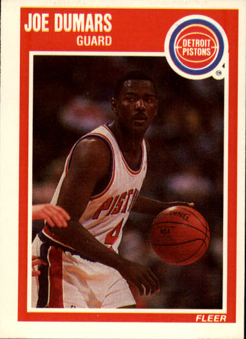 1989-90 Fleer #45 Joe Dumars
