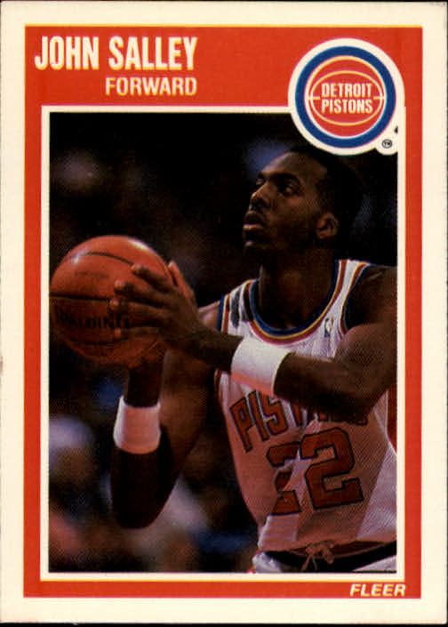 1989-90 Fleer #51 John Salley