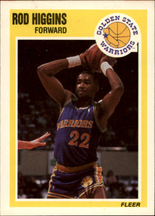 1989-90 Fleer #54 Rod Higgins