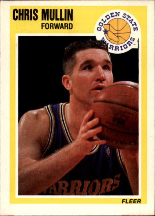 1989-90 Fleer #55 Chris Mullin