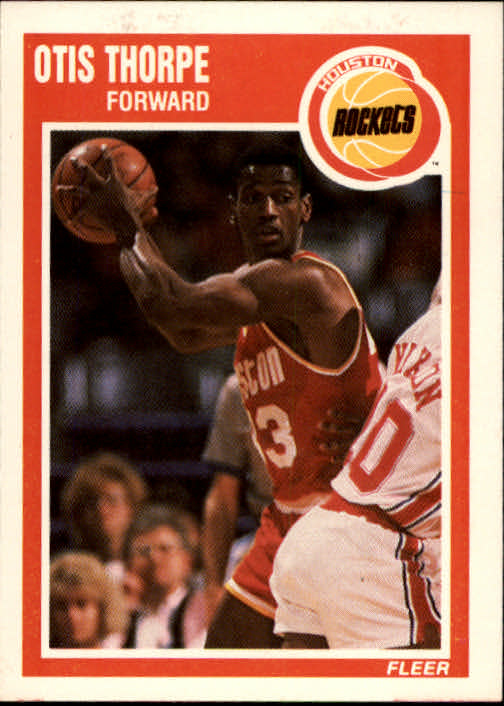 1989-90 Fleer #62 Otis Thorpe