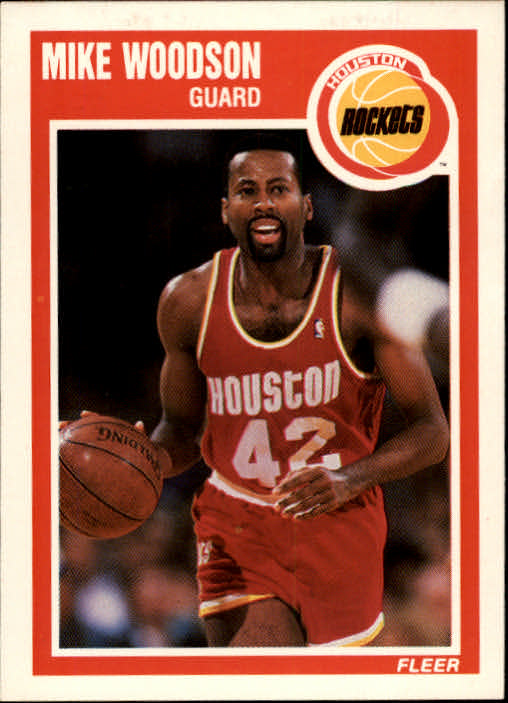 1989-90 Fleer #63 Mike Woodson
