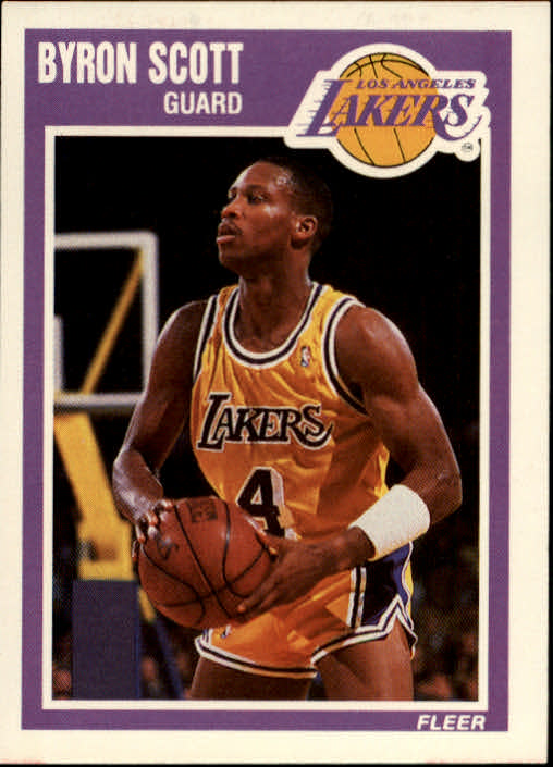 1989-90 Fleer #78 Byron Scott
