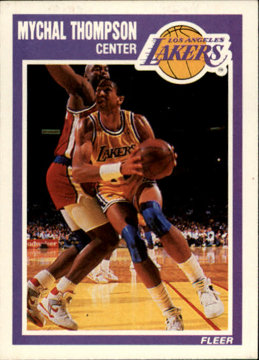1989-90 Fleer #79 Mychal Thompson