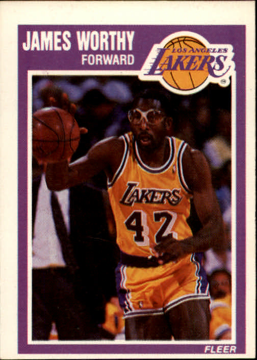 1989-90 Fleer #80 James Worthy