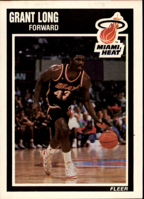 1989-90 Fleer #82 Grant Long RC