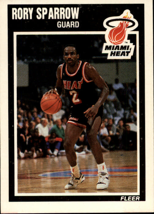 1989-90 Fleer #84 Rory Sparrow