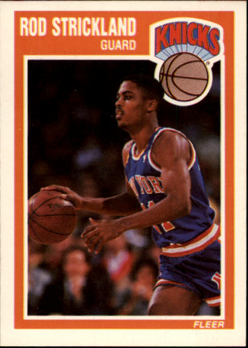 1989-90 Fleer #104 Rod Strickland RC
